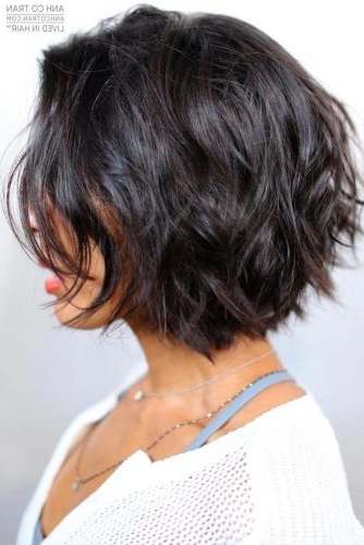 55 Beloved Short Curly Hairstyles For Women Of Any Age Within Sassy Wavy Bob Hairstyles (View 19 of 25)