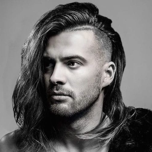 55 Coolest Long Hairstyles For Men (2019 Update) – Men In Most Up To Date Side Part Voluminous Braid Hairstyles (View 23 of 25)