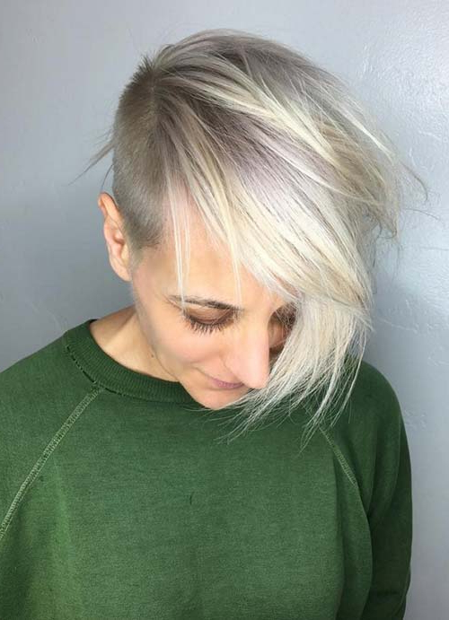 55 Short Hairstyles For Women With Thin Hair   Fashionisers© Pertaining To Most Recent Edgy Haircuts For Thin Hair (View 3 of 25)