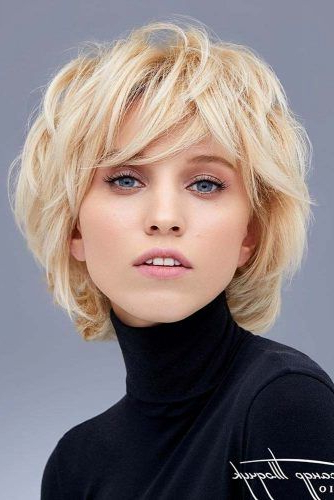 55 Stylish Layered Bob Hairstyles | Lovehairstyles Intended For Shaggy Bob Hairstyles With Choppy Layers (View 15 of 25)