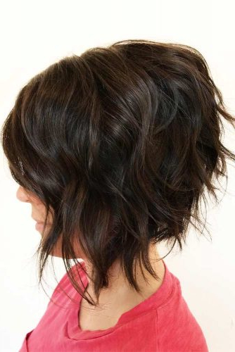 55 Stylish Layered Bob Hairstyles   Lovehairstyles With Regard To Most Recent Classic Disconnected Bob Haircuts (View 24 of 25)