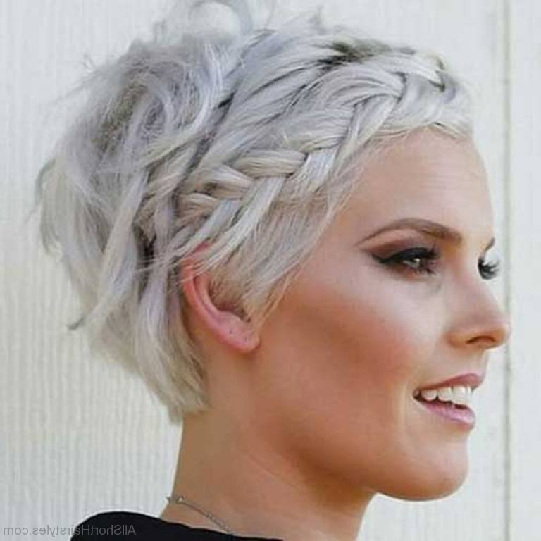 56 Cute Short Braid Haircuts For Sweet Girls Regarding Current Braided Short Hairstyles (View 4 of 25)