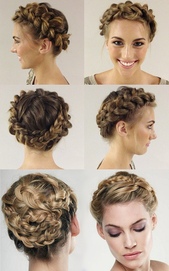 6 Chic Braided Crown Hairstyles For Girls'daily Creation At Within 2020 Angular Crown Braid Hairstyles (View 22 of 25)