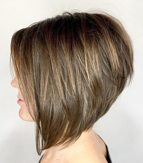 60 Best Short Bob Haircuts And Hairstyles For Women In 2019 In Voluminous Bob Hairstyles (View 11 of 25)