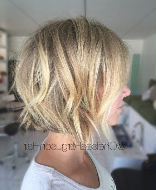 60 Best Short Bob Haircuts And Hairstyles For Women Regarding Ombre Piecey Bob Hairstyles (View 4 of 25)
