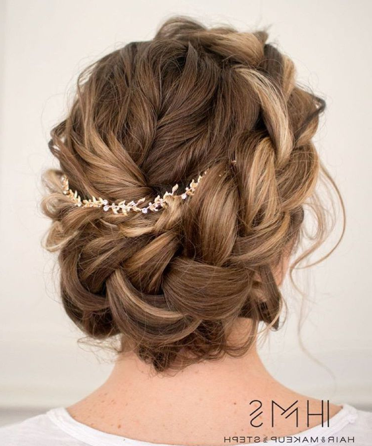 60 Breezy Crown Braid Hairstyles For Summer | Hair | Braided For Latest Messy Crown Braid Hairstyles (View 7 of 25)