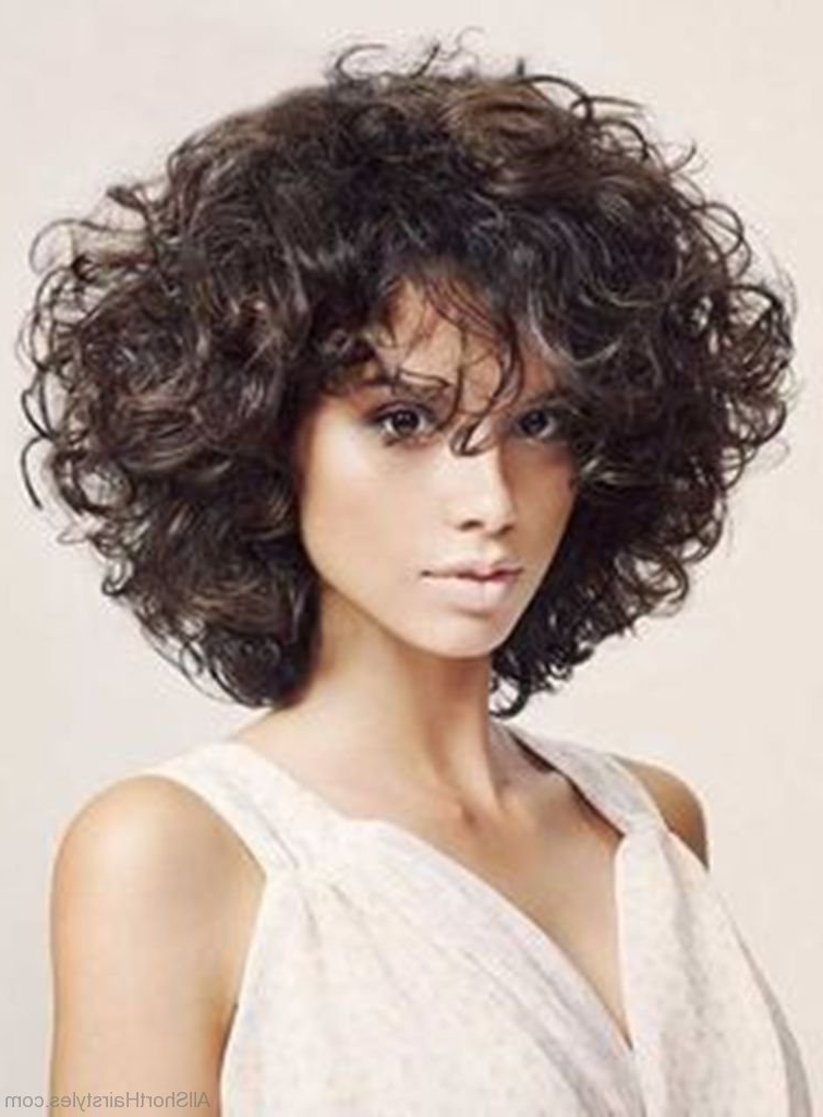 60 Brilliant Short Curly Bob Hairstyles In Curly Bob Hairstyles (View 12 of 25)