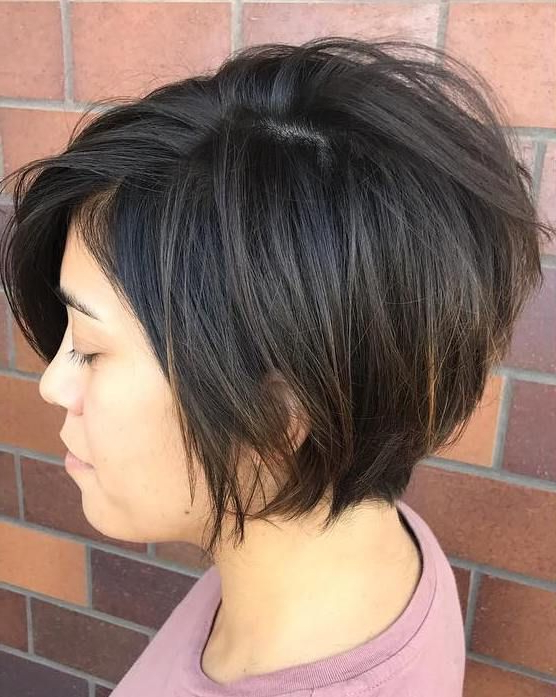 60 Classy Short Haircuts And Hairstyles For Thick Hair Inside Short Choppy Layers Pixie Bob Hairstyles (View 3 of 25)