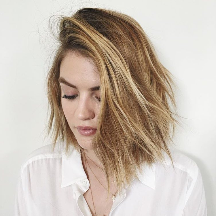 60 Hottest Bob Hairstyles For Everyone! (Short Bobs, Mobs Within Texturized Tousled Bob Hairstyles (View 22 of 25)