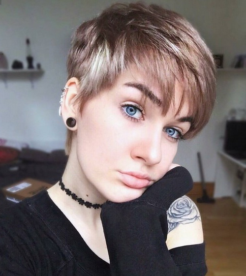 60 Hottest Pixie Haircuts 2020 – Classic To Edgy Pixie Intended For Newest Edgy Pixie Haircuts (View 25 of 25)