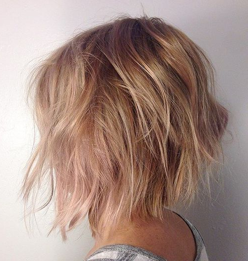 Featured Photo of Texturized Tousled Bob Hairstyles