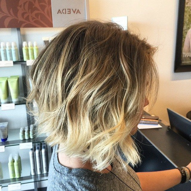 60 Messy Bob Hairstyles For Your Trendy Casual Looks | Messy Pertaining To Ombre Piecey Bob Hairstyles (View 5 of 25)