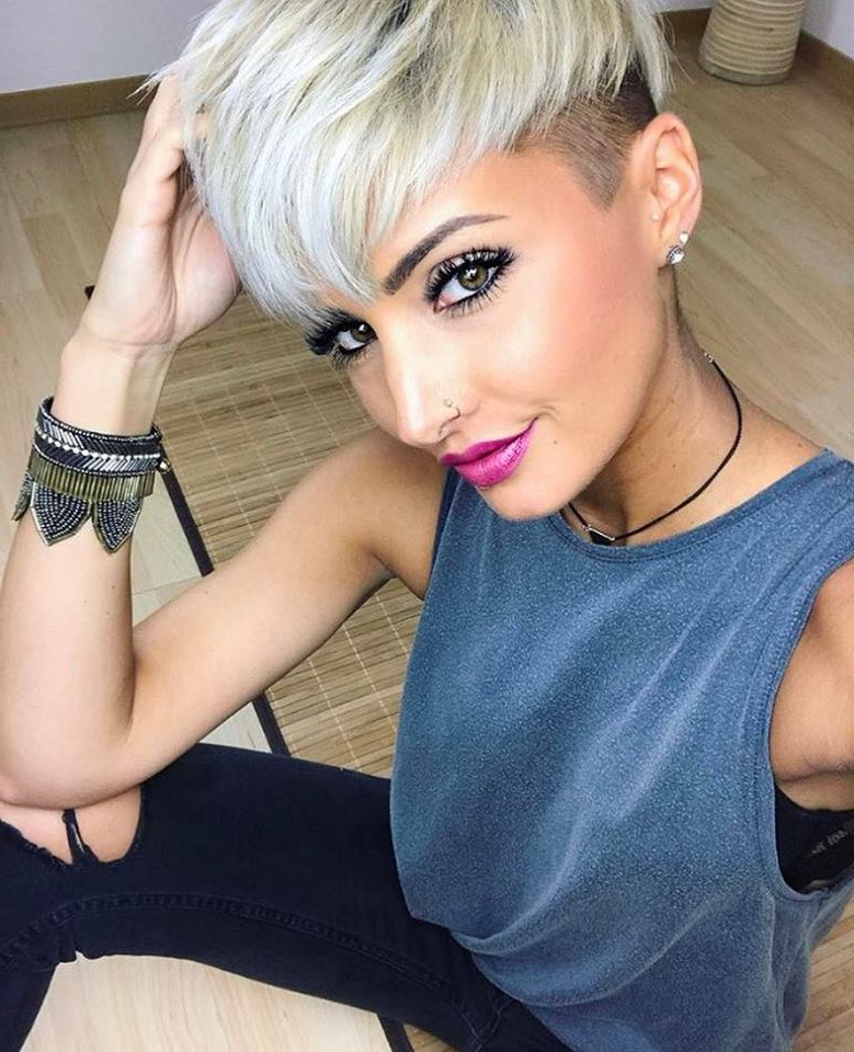 60 Trendiest Low Maintenance Short Haircuts You Would Love For Most Recent Metallic Short And Choppy Pixie Haircuts (View 19 of 25)