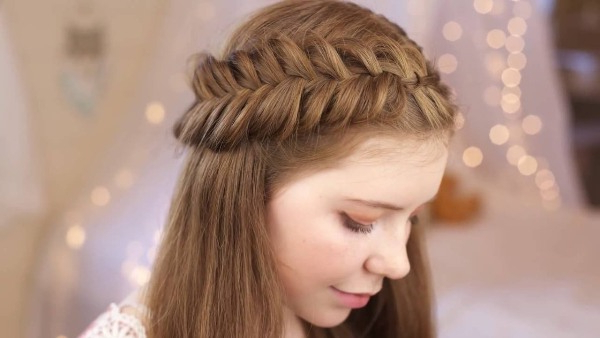 61 Beautiful Braids And Braided Hairstyles – The Women's Trend Inside Newest Full Headband Braid Hairstyles (View 21 of 25)