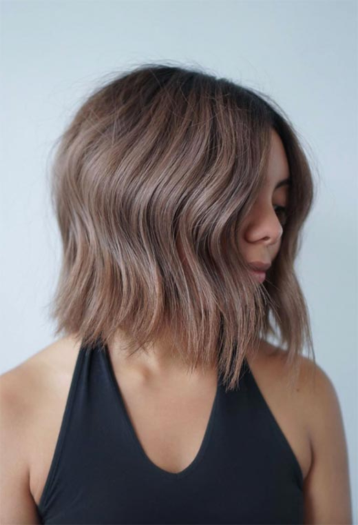 61 Cute Short Bob Haircuts: Short Bob Hairstyles For 2020 For Short Feathered Bob Crop Hairstyles (View 16 of 25)