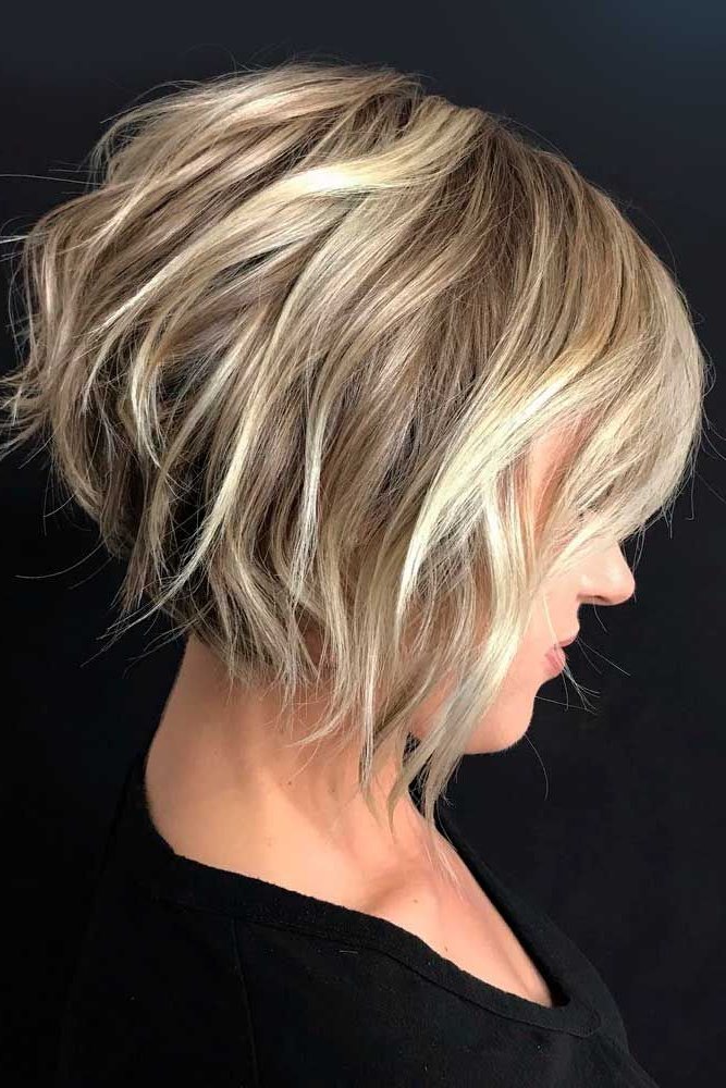 61 Ideas Of Inverted Bob Hairstyles To Refresh Your Style Pertaining To Textured And Layered Graduated Bob Hairstyles (View 3 of 26)