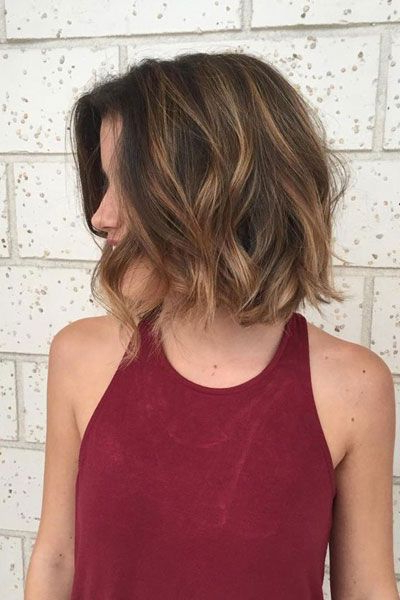 62 Popular Short Hairstyles For Fine Thin Hair – Beach Waves Inside Beach Wave Bob Hairstyles With Highlights (View 13 of 25)