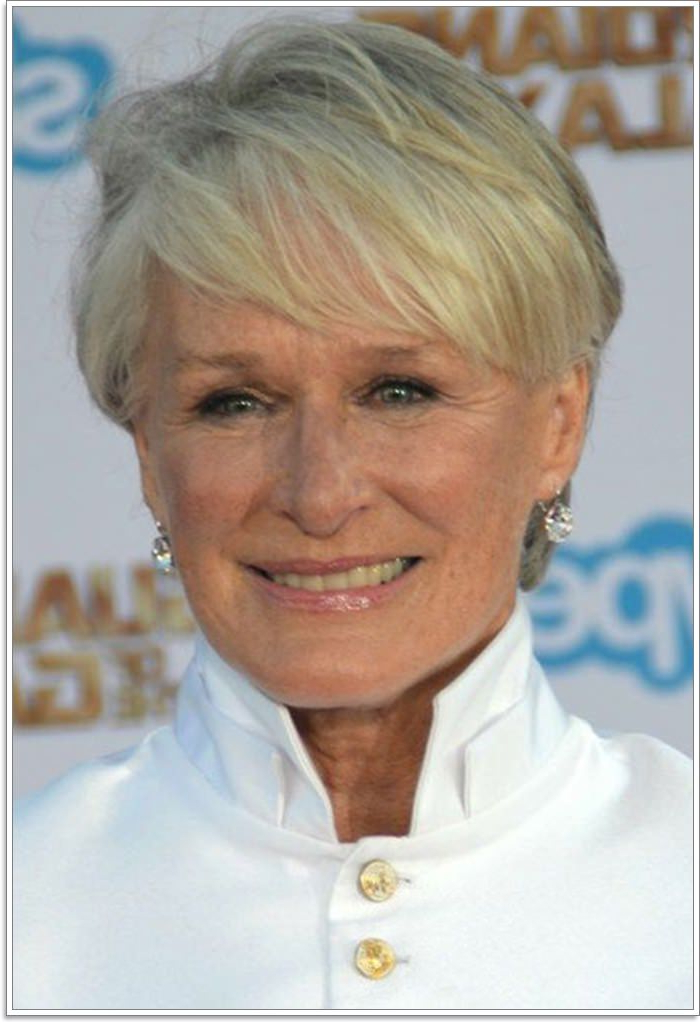 65 Gracious Hairstyles For Women Over 60 Throughout Cute Round Bob Hairstyles For Women Over  (View 18 of 25)