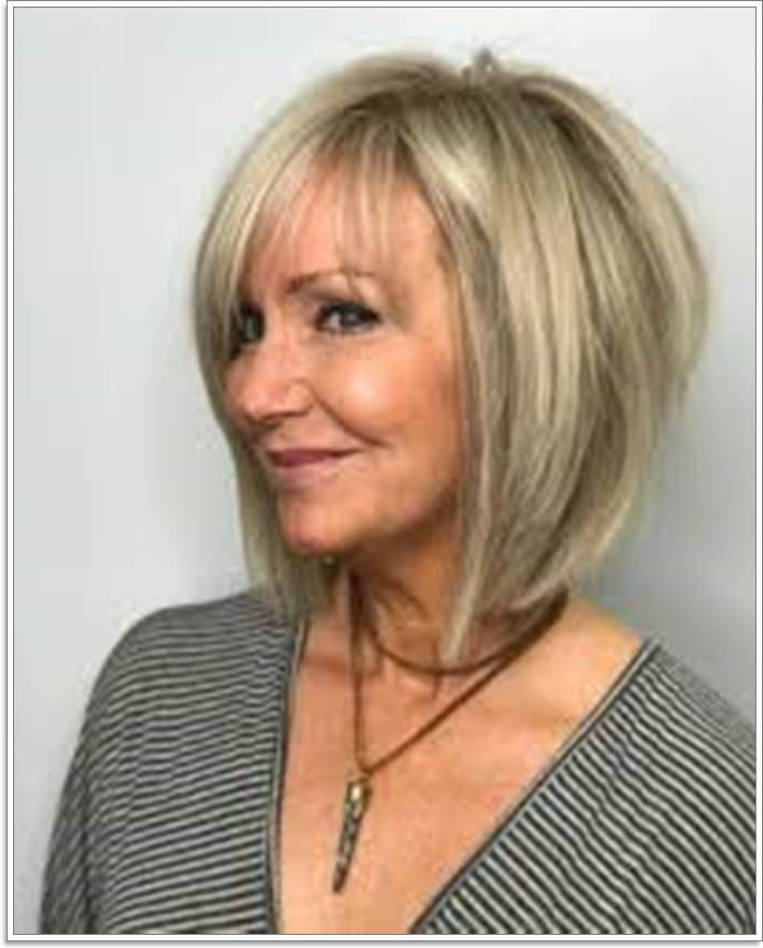 65 Gracious Hairstyles For Women Over 60 With Regard To Cute Round Bob Hairstyles For Women Over  (View 6 of 25)