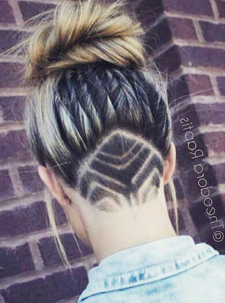 66 Shaved Hairstyles For Women That Turn Heads Everywhere Inside Recent Shaved Undercuts (View 12 of 25)