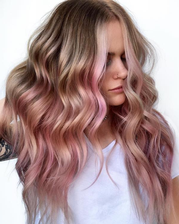 67 Pink Hair Color Ideas To Spice Up Your Looks For 2019 Regarding Newest Baby Pink Braids Hairstyles (View 24 of 25)