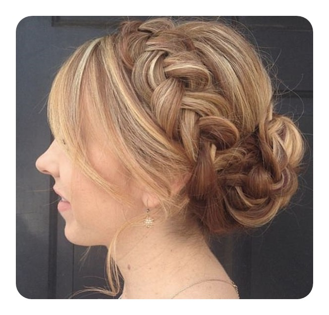 69 Easy And Elegant Headband Braid Hairstyles For Everyone With Most Recently Full Headband Braid Hairstyles (View 22 of 25)