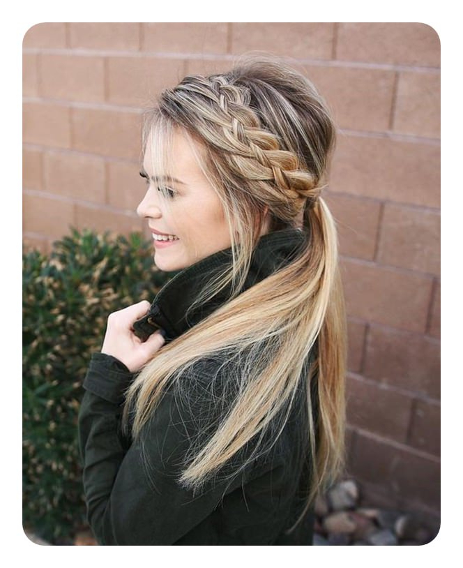 69 Easy And Elegant Headband Braid Hairstyles For Everyone With Regard To Most Current Full Headband Braid Hairstyles (View 18 of 25)