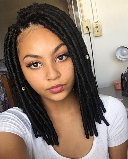 7 Hot Small Medium Box Braids Hairstyles You Try For New Look pertaining to Most Up-to-Date Medium-Sized Braids Hairstyles