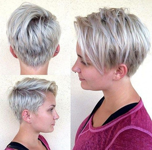 70 Overwhelming Ideas For Short Choppy Haircuts | Choppy Intended For Short Choppy Layers Pixie Bob Hairstyles (View 5 of 25)