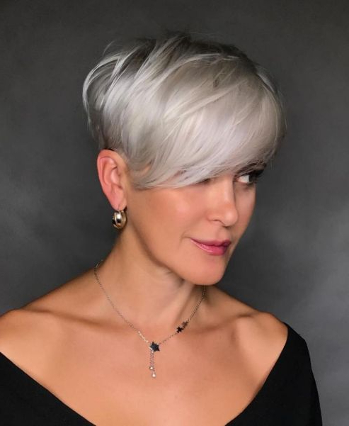 70 Overwhelming Ideas For Short Choppy Haircuts In 2019 inside Most Up-to-Date Shattered Choppy Bangs Pixie Haircuts