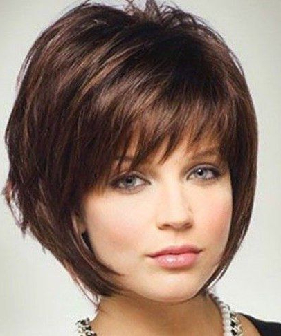 70 Winning Looks With Bob Haircuts For Fine Hair | Haircuts Inside Wispy Bob Hairstyles With Long Bangs (View 21 of 25)