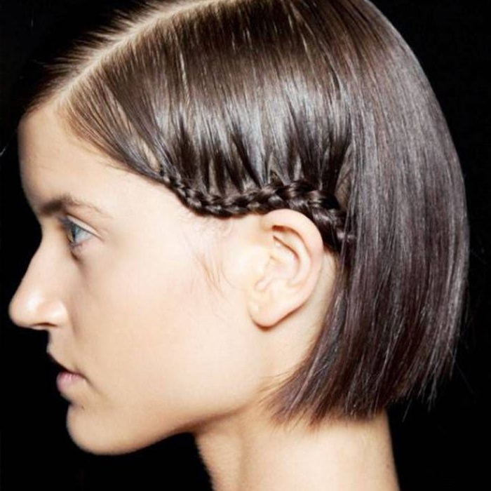 8 Braids That Look Amazing On Short Hair for 2020 Solo Braid Hairstyles