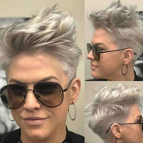 8+ Latest Edgy Pixie Hairstyles For 2020 – #edgy #haircolors With Regard To Most Recent Edgy Pixie Haircuts (View 16 of 25)