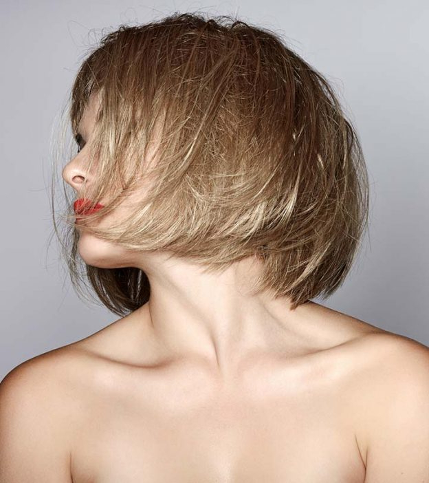 80 Latest And Most Popular Messy Bob Hairstyles For Women For Textured And Layered Graduated Bob Hairstyles (View 13 of 26)