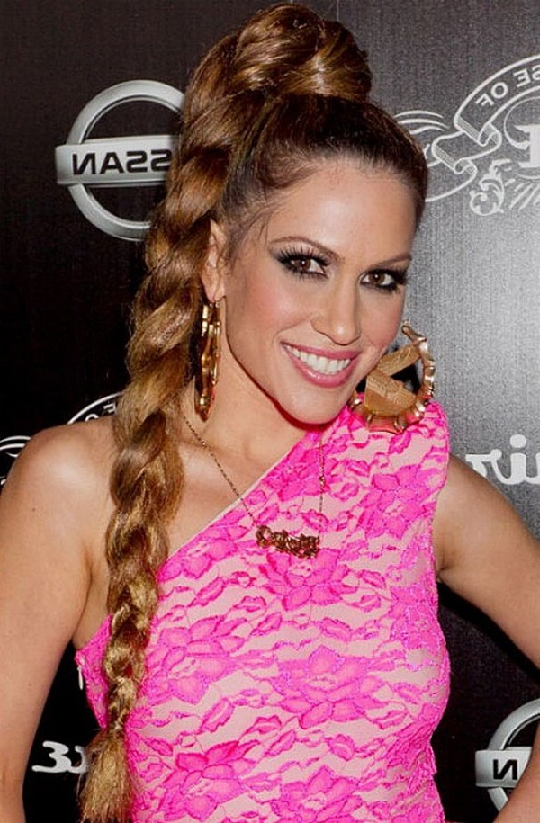 80 Lovely Women Ponytail Hairstyles For Long Hair for Most Popular High Ponytail Braid Hairstyles