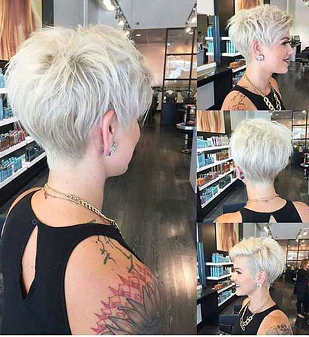 80+ Short Blonde Pixie Haircuts 2017 – Blonde Hairstyles 2020 For Current Blonde Pixie Haircuts (View 10 of 25)