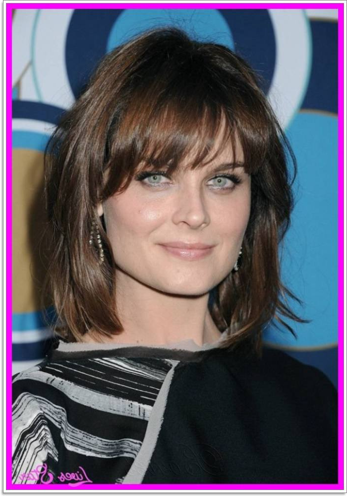 88 Hairstyles For Square Faces - Reach The Oval Ideal in Edgy Face Framing Bangs Hairstyles