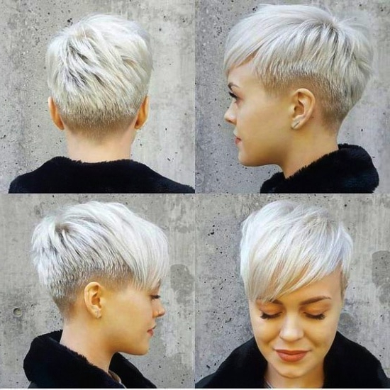 9 Cute Easy Hairstyles For Short Hair To Look Like A Star Intended For Most Recently Disconnected Pixie Haircuts With An Undercut (View 14 of 25)