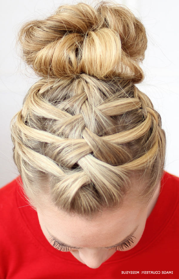 9 Gorgeous Hairstyles That You Can Makeyourself Pertaining To Most Recently High Waterfall Braid Hairstyles (View 18 of 25)
