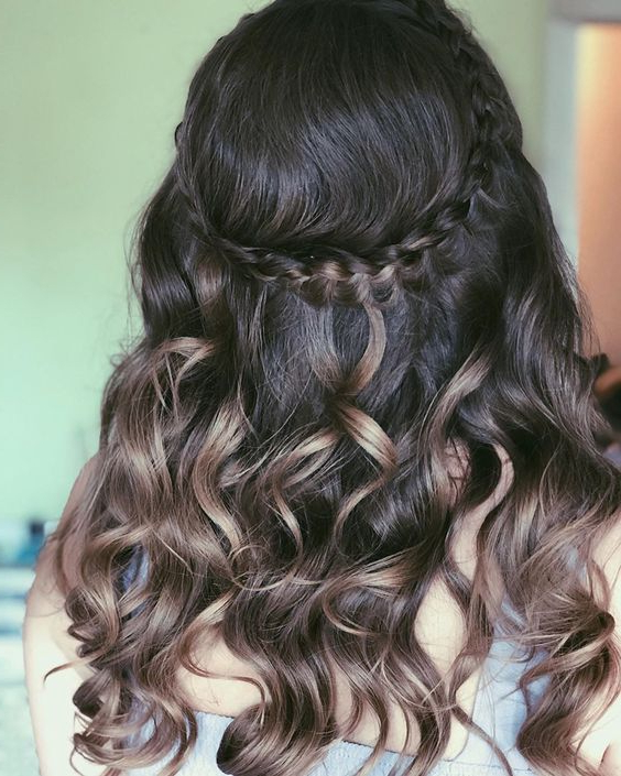 90 Classy Braided Hairstyles That Are High On Style Alert Throughout Most Current High Waterfall Braid Hairstyles (View 16 of 25)