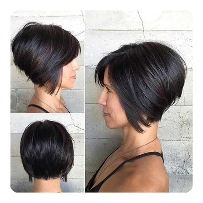 92 Layered Inverted Bob Hairstyles That You Should Try In Super Short Inverted Bob Hairstyles (View 10 of 25)