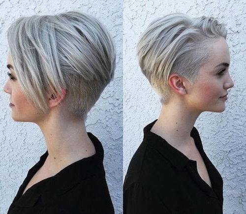 93 Of The Best Hairstyles For Fine Thin Hair For 2019 With Regard To Newest Disconnected Pixie Haircuts For Fine Hair (View 13 of 25)