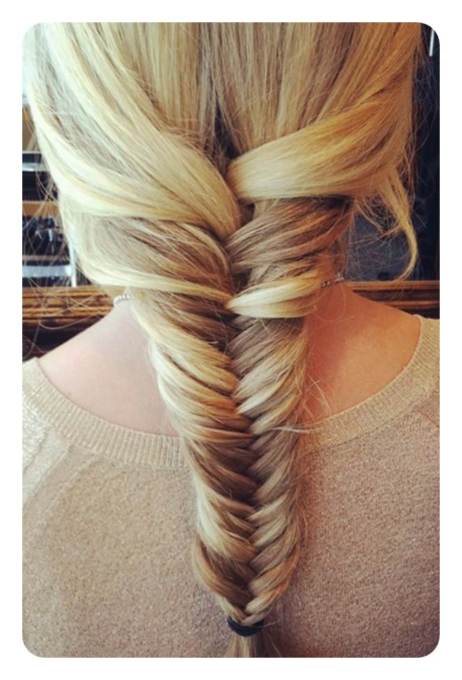 94 Incredible Fishtail Braid Ideas With Tutorials For Recent Ponytail Fishtail Braid Hairstyles (View 25 of 25)