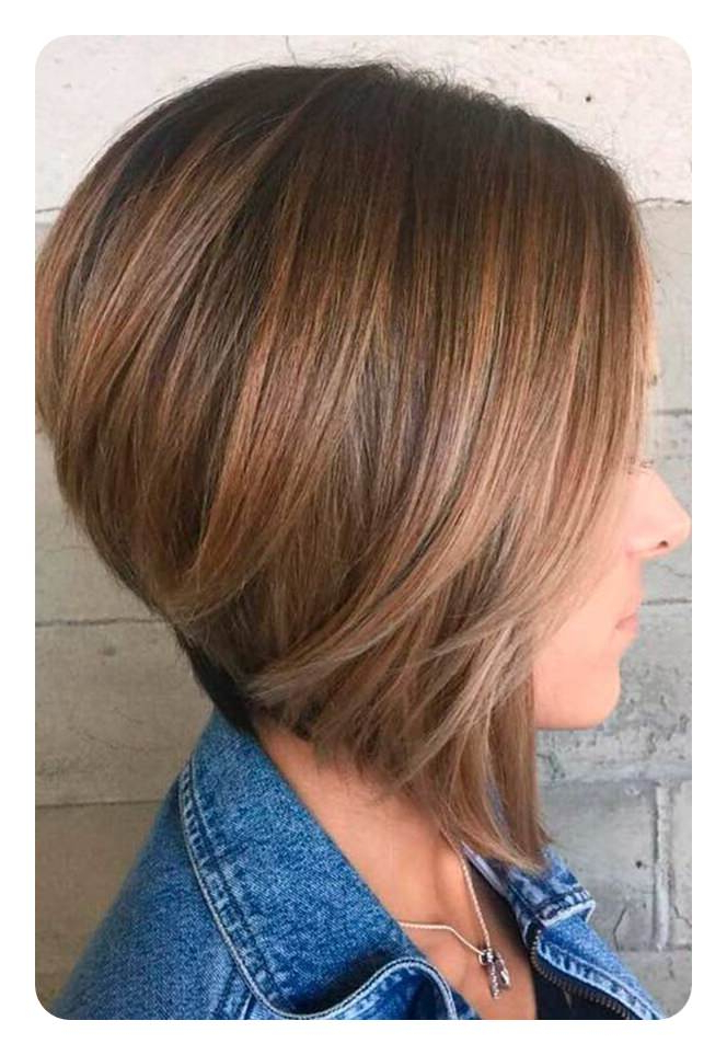 99 Stunning Inverted Bob Hairstyles To Try This Season With Textured And Layered Graduated Bob Hairstyles (View 17 of 26)