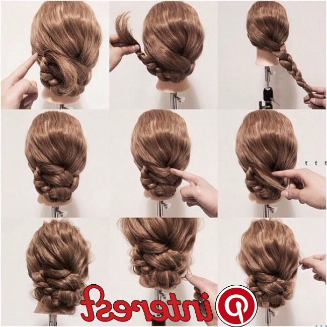Acconciatura Con Le Mani Solo Bisogno Post   Frisur In 2019 For Best And Newest Solo Braid Hairstyles (View 21 of 25)