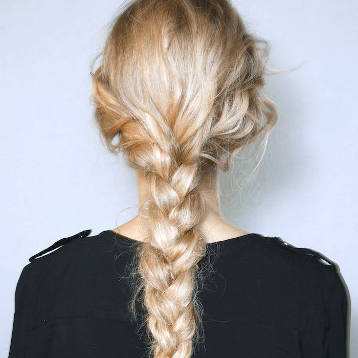 All The Summer Braid Inspo You Need, All In One Place With Regard To Most Current Three Strand Side Braid Hairstyles (View 20 of 25)