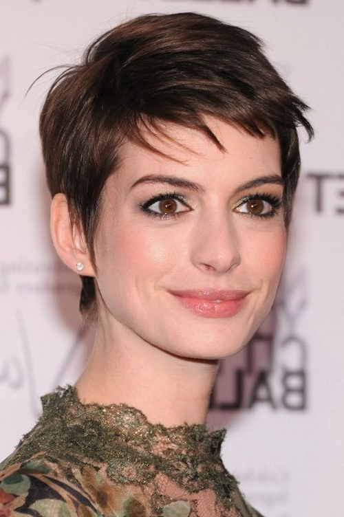 Amazing Pixie Haircuts For Women – Pretty Designs Intended For Current Morena Pixie Haircuts With Bangs (View 9 of 25)