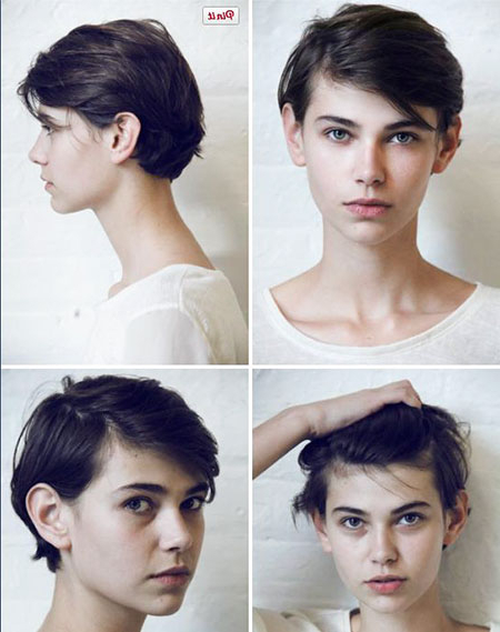 Androgynous Haircuts For Round Faces   Find Your Perfect Within Most Up To Date Androgynous Pixie Haircuts (View 13 of 25)
