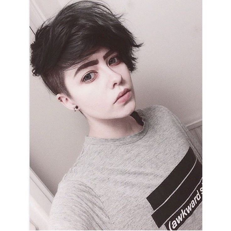 Androgynous Hairstyles For Men And Women   Hairstylo Pertaining To Newest Androgynous Pixie Haircuts (View 7 of 25)