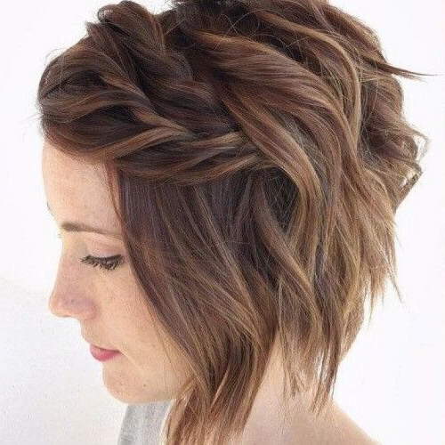 Asymmetrical Bob Ideas For An Original Hairstyle 2019 With Most Recently Asymmetrical French Braid Hairstyles (View 7 of 25)
